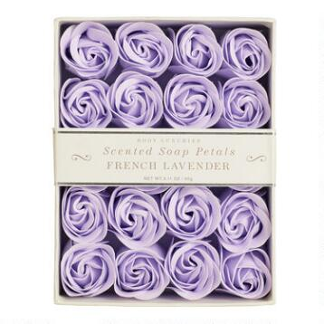 Lavender Soap Petals, 20 Pieces